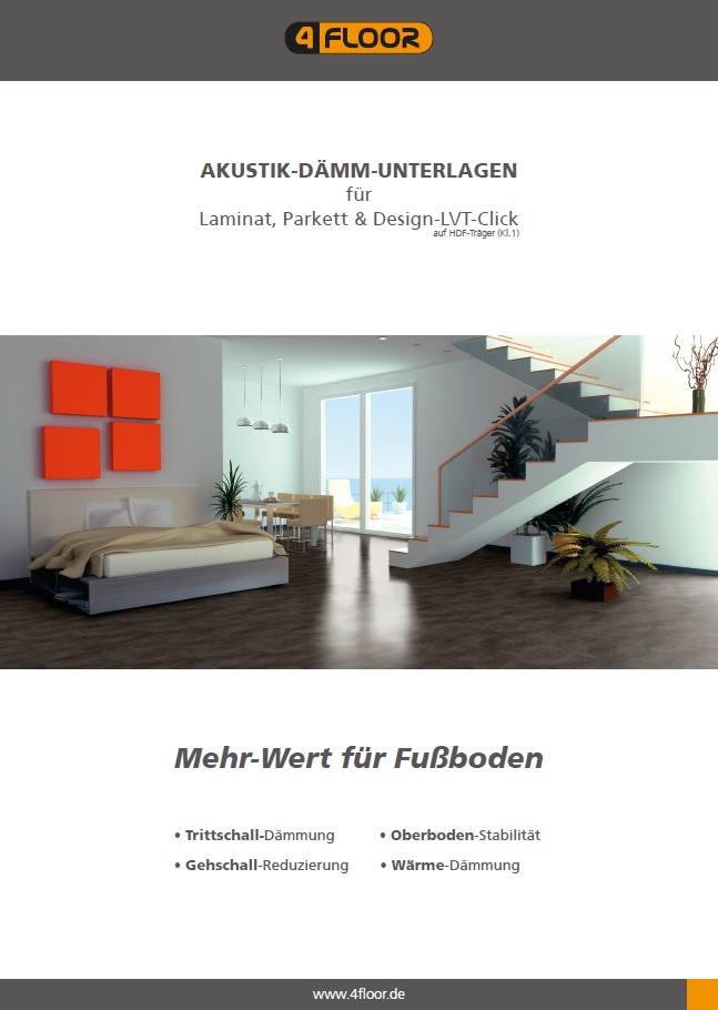 4F für Laminat/Parkett/Design-LVT-Click (HDF)