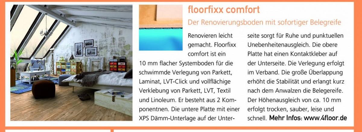 4F Akustik-Dämm-Unterlagen Experte 9/2017_Textil